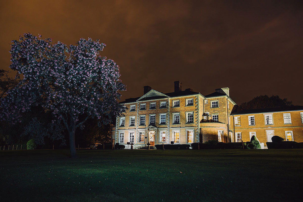 Ansty Hall Outside dark