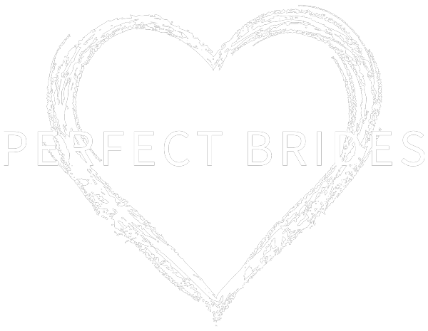 Perfect brides Logo in White
